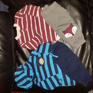 Carter's Matching Sets - Carters Bundle Of Infant Outfits